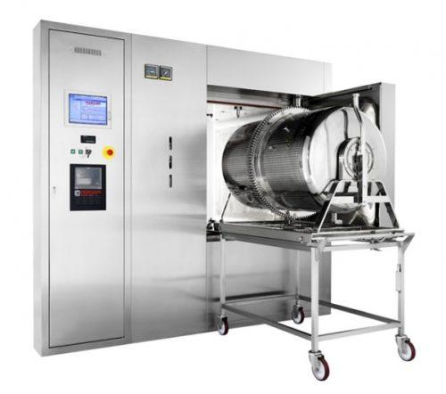 Équipement de stérilisation et lavage de bouchons