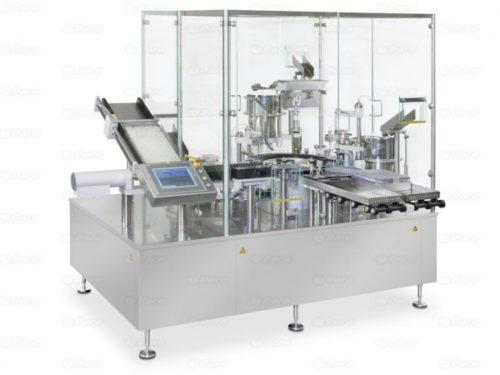 Remplissage et fermeture automatique de carpules